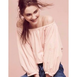 Anthropologie Holding Horses Aria Off-the-Shoulder